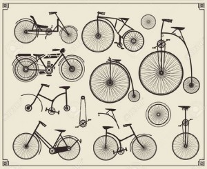 Vieux vélos